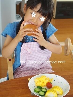 キッズ食育 ランチ サンドイッチ作り9