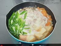 豚こまと大根の豆乳鍋風手順3