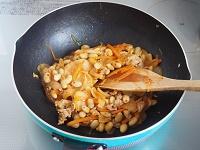 大豆入り豚キムチ工程2