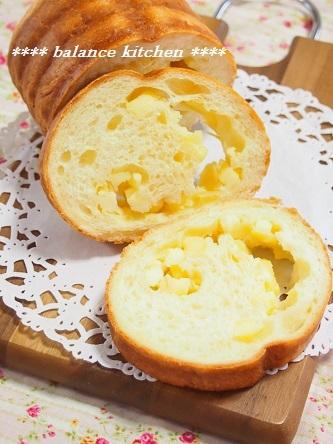 チーズとアーモンドのラウンドパン
