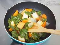 絹揚げと野菜の甘酢あん工程4