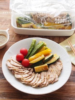 ゆで豚 麺つゆ完成写真5