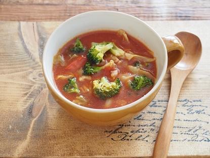 クレハさま3月 トマトスープ