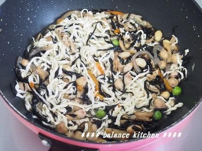 ひじきと切干大根の煮物3