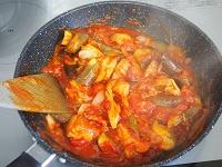 鶏肉となすのトマト煮工程5