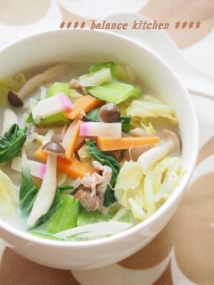 長崎ちゃんぽん風スープ