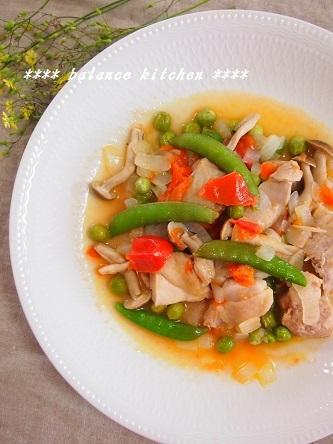 鶏肉と豆の軽い煮込2