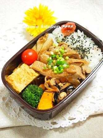 鶏チャーシューお弁当