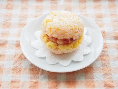 マカロンおにぎりオレンジ完成1 ブログ
