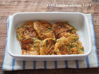れんこんのキムチーズちぢみ3