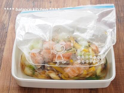 白菜と鮭の南蛮漬け4