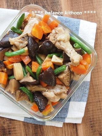 鶏肉とたっぷりしいたけの煮物5
