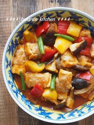 肉巻き厚揚げのトマトオイスター煮3