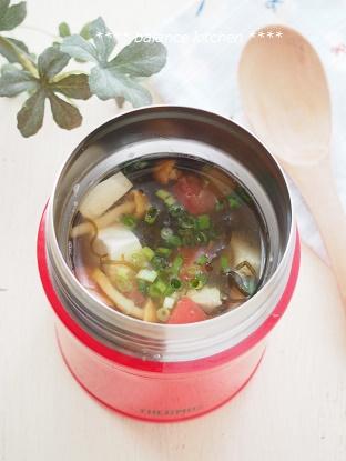 もずくの冷製スープ2