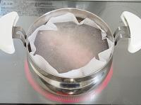 ゆで豚 麺つゆ工程1