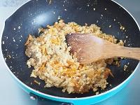 豚キムチ炒り豆腐工程3