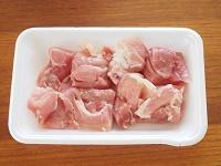鶏肉となすのトマト煮工程1