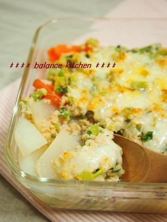 丸ごとかぶの鶏味噌グラタン2