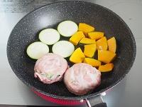 豚肉としそのロールステーキ 工程4