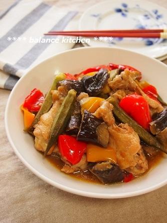 鶏手羽元とやさいの梅酒煮1