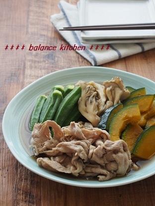 豚肉と舞茸の煮浸し3