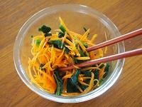 韓国冷麺風 豆腐スープ 工程1 ブログ