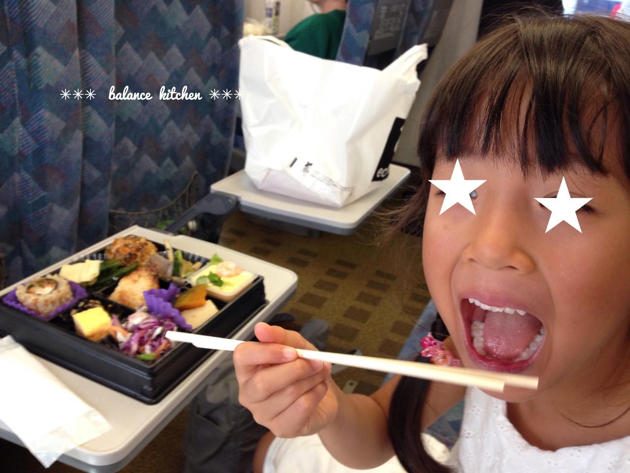 新幹線お昼ごはん
