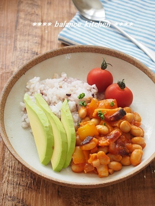 たこと大豆のトマト煮