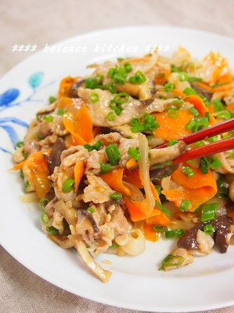 豚肉のオイスターマヨ炒め3