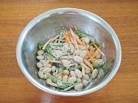 ほくほく大豆かき揚げ工程1