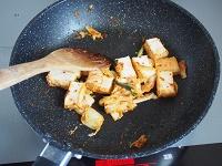 きゅうりと厚揚げのキムチ炒め工程2