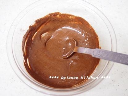 豆乳マーブルレアチーズケーキ工程3