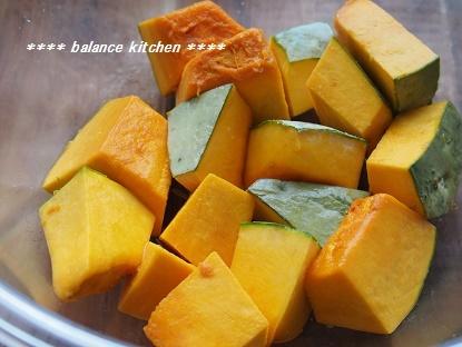 塩かぼちゃのレンジ蒸し 手順