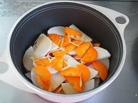 大根と豚肉の旨煮工程1