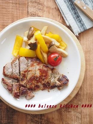豚肉のマリネステーキ2