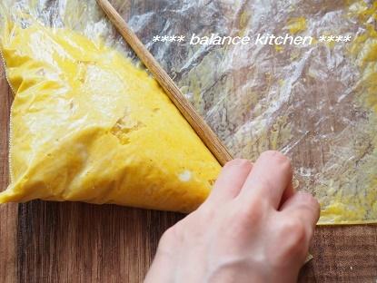 即席パンプキンチーズケーキ 行程2