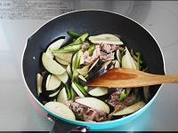 なす・ピーマン・豚肉のしぐれ煮風工程3