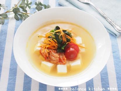 韓国冷麺風 豆腐スープ3 ブログ