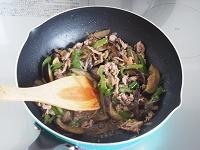 なす・ピーマン・豚肉のしぐれ煮風工程4