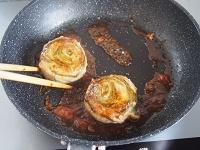 豚肉としそのロールステーキ 工程6