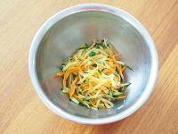 切干大根とツナのなめたけサラダ工程3