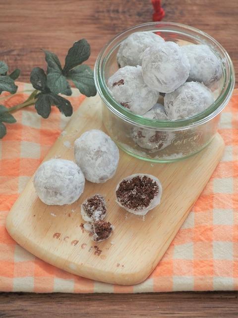 米粉のスノーボール2