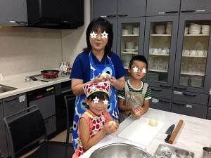 親子パン教室2