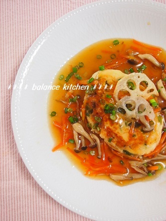 ふわふわ豆腐ハンバーグ2