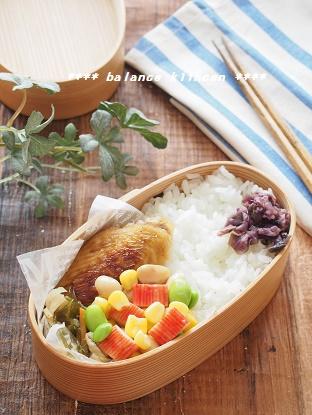 かにかまと豆の和風マリネ 弁当1