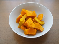 かぼちゃタルト工程2