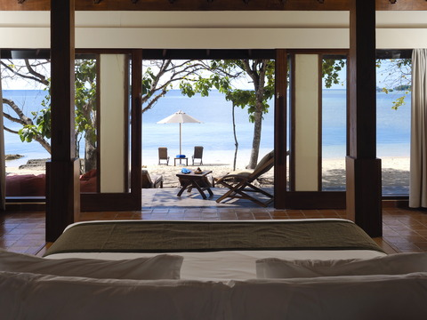 Beach Villa - view from bedroom