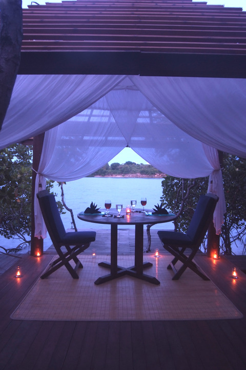 Romantic Dinner at Gazebo