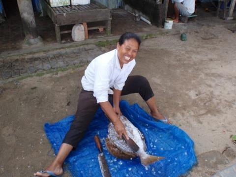 ibu dan ikan