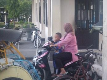 バリ島の交通事情
